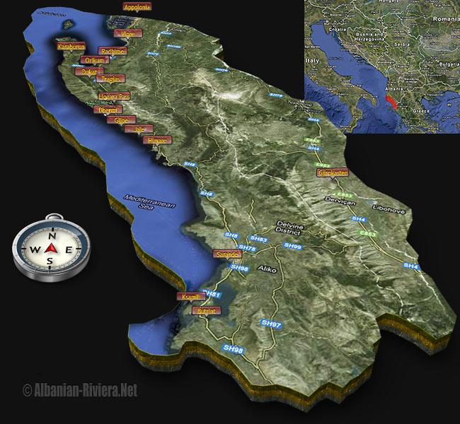 Albanian_Riviera_3d